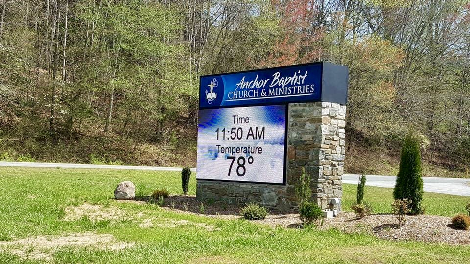 Anchor Church Sign