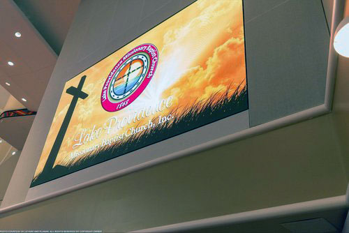 Church Indoor LED Screen