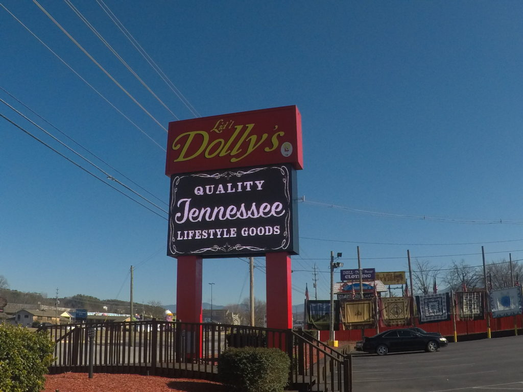 Dolly's LED Sign