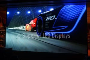 Wall LED Display cars
