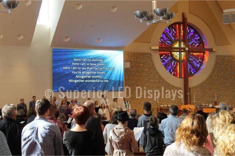 Church LED Display