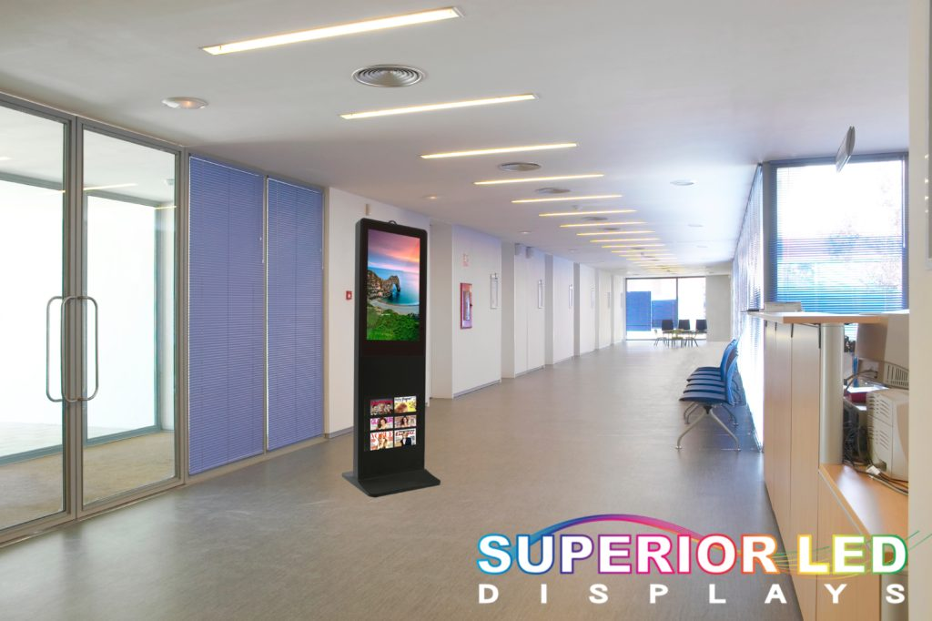 Standing Floor LED Brochure