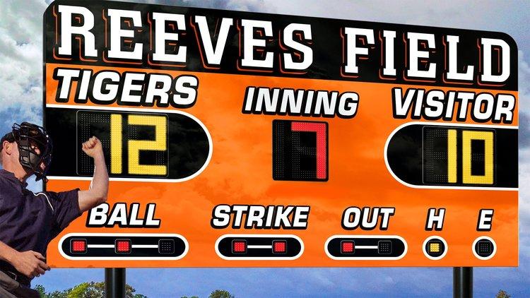 Baseball LED Scoreboard