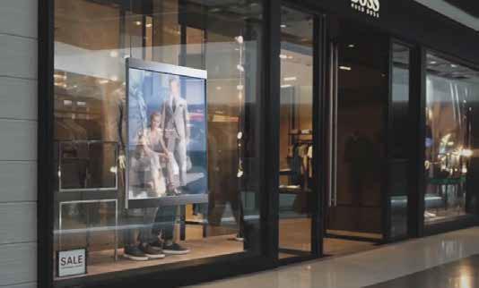 LED Display Store Window