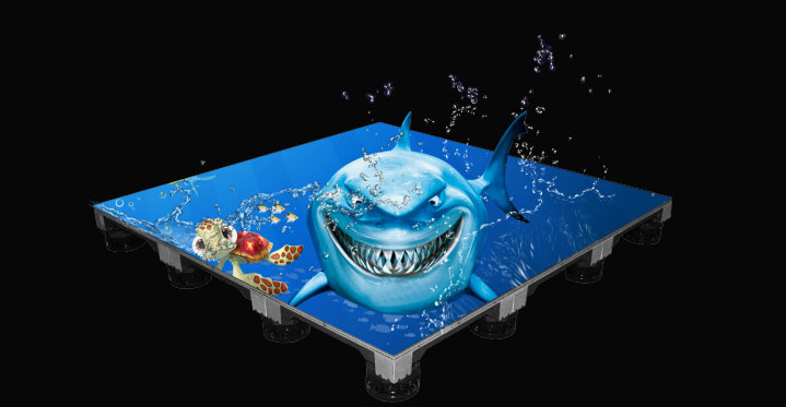 Water Proof Floor LED System