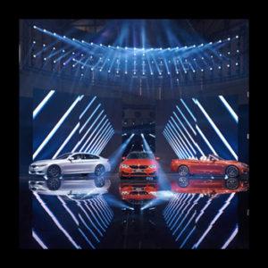 BMW Cars Led Display