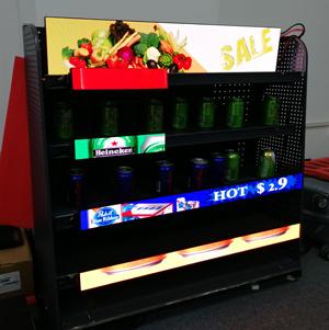 Shelf LED Display