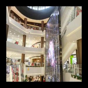 Transparent LED Wall